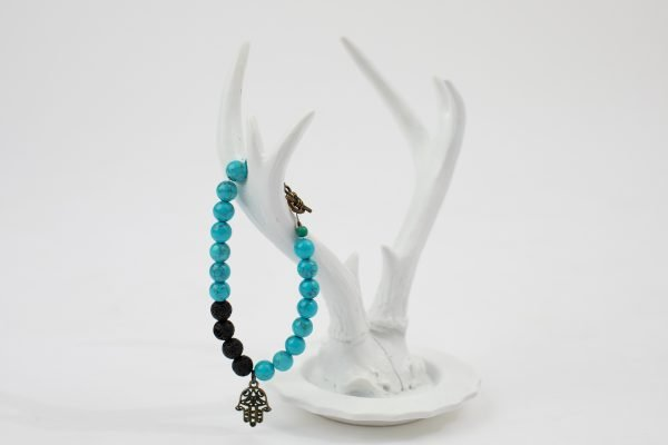 One Energy Single Wrap bracelet turquoise