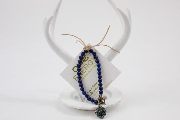 One Energy Single Wrap Bracelet Purple
