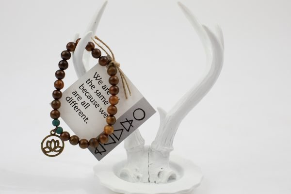 One Energy Single Wrap Bracelet Brown